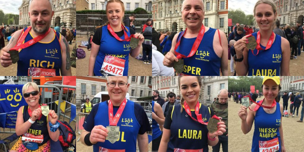 Look London Marathon Runners