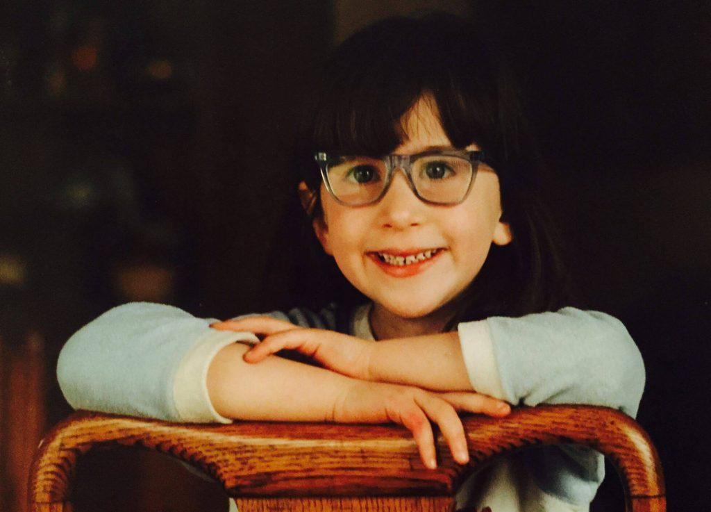 Little Charlotte age 7